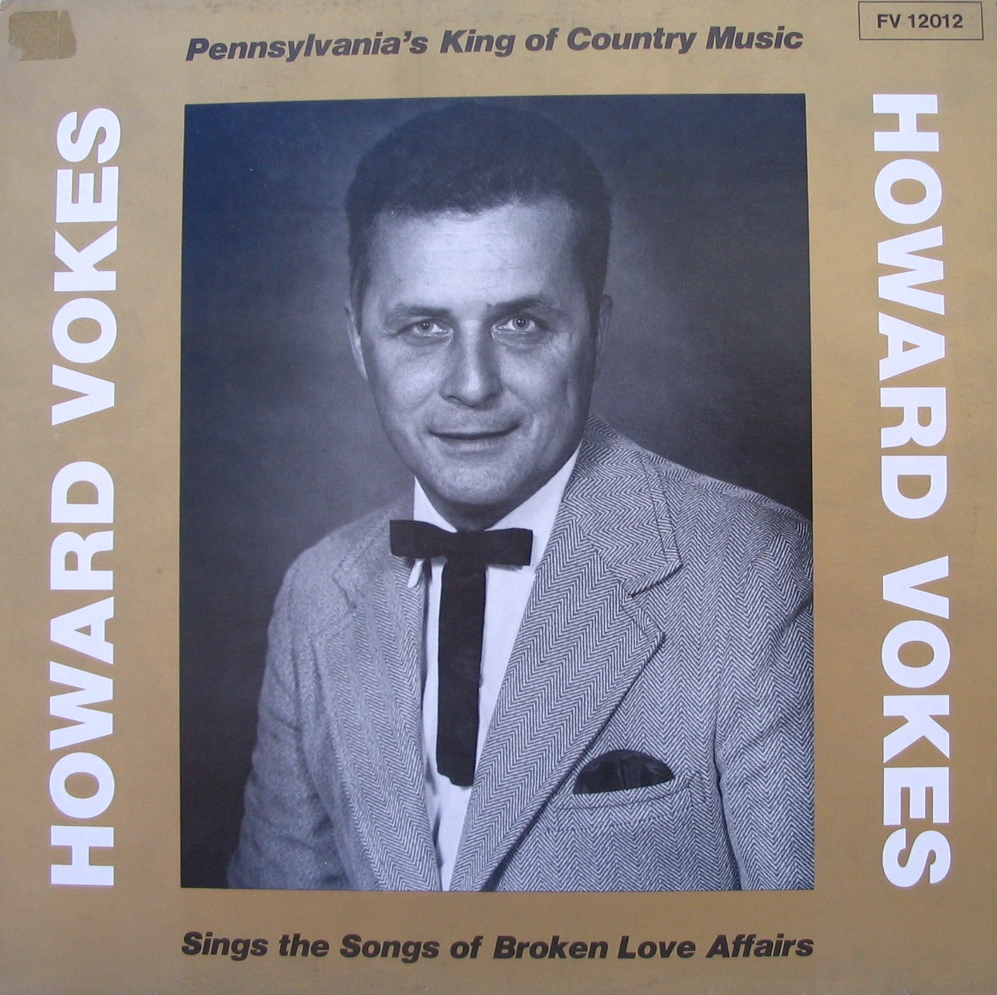 Howard Vokes LP cover