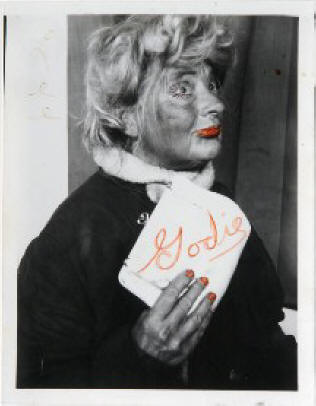 Lee Godie, Folk Artist/ Outsider Artist