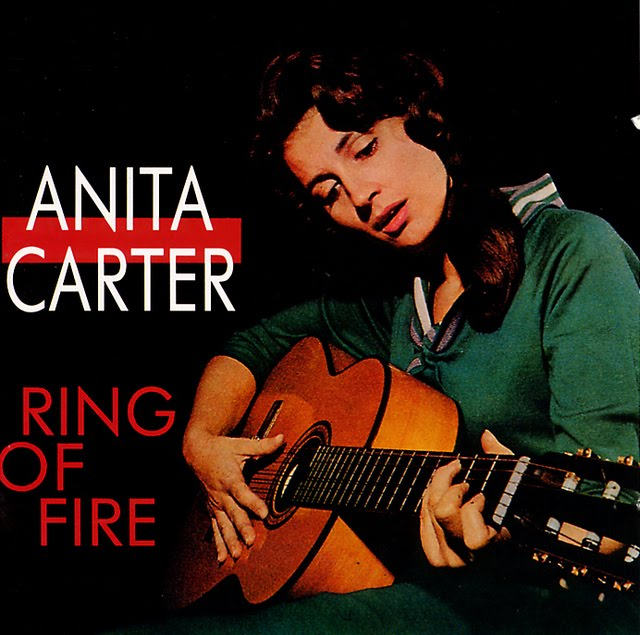 Anita Carter lp cover