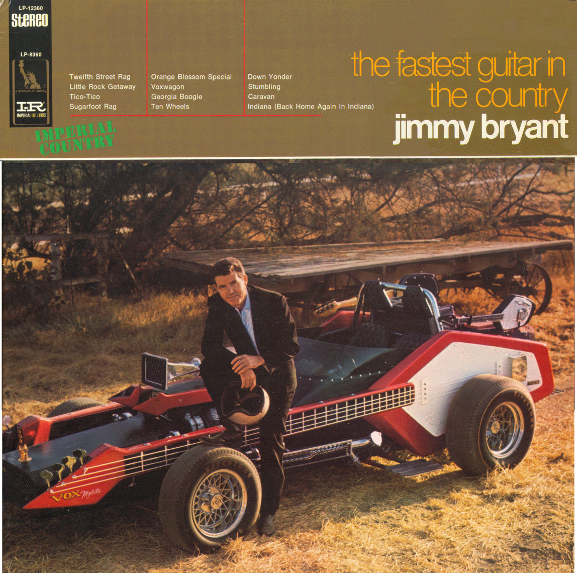 Jimmy Bryant LP cover