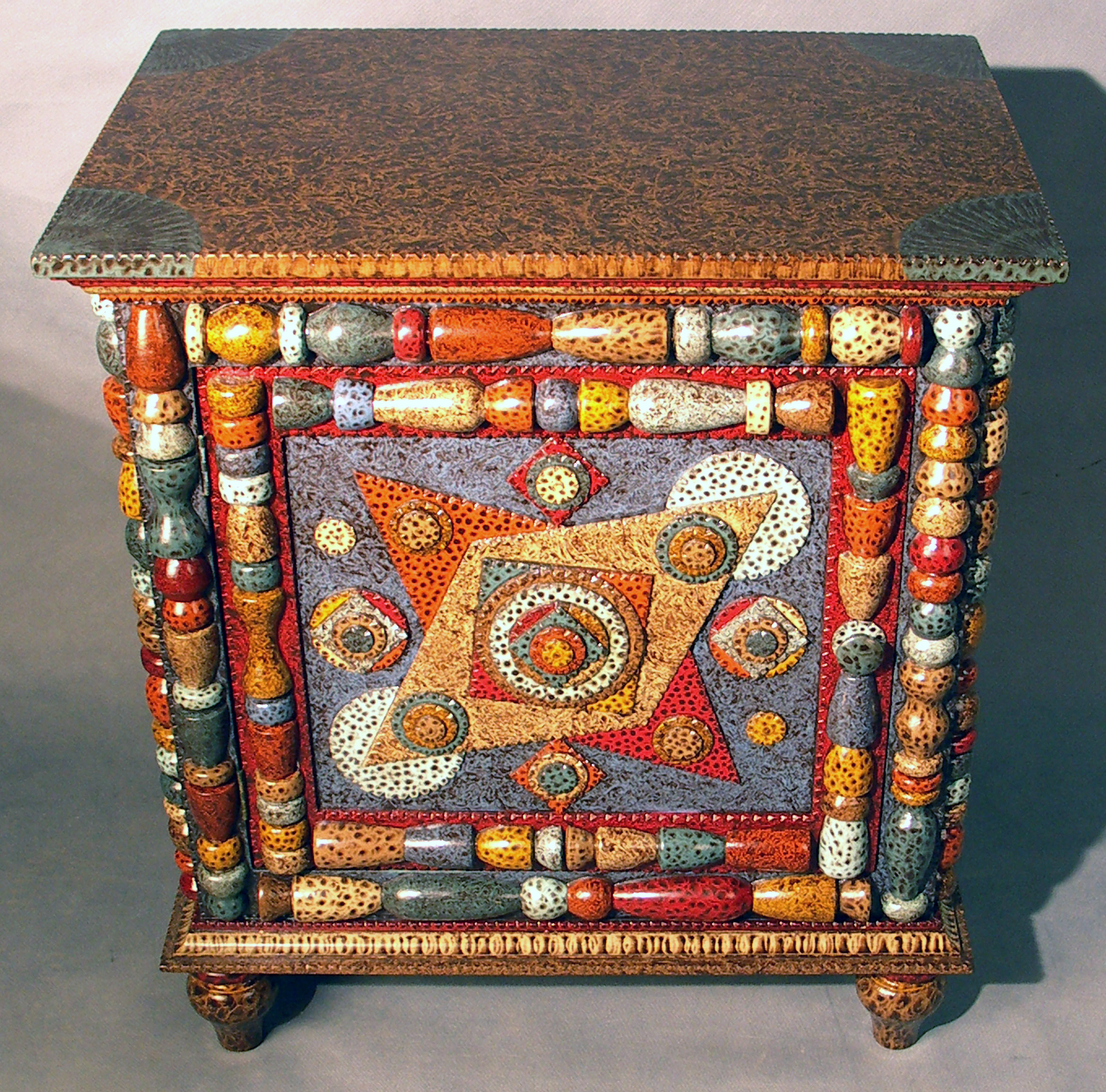 Furniture Photo Gallery Inspired By Tramp Art Folk Art